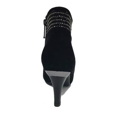 - Alden Heel Boot Zanni - BLACK