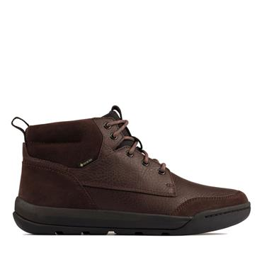 CLARKS ASHCOMBE HIGTX BOOT-BROWN