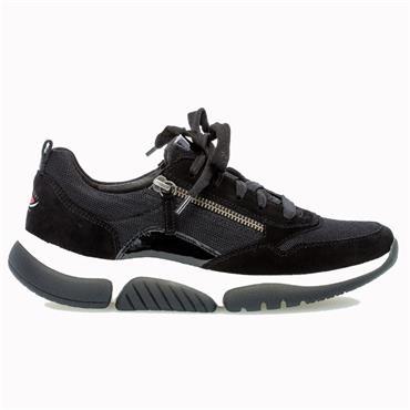 Gabor Aston Casual Shoe-BLACK
