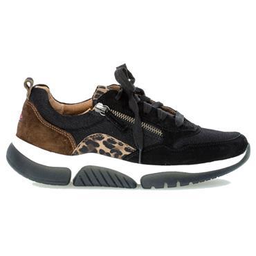 Gabor Aston Casual Shoe-BLACK MIX