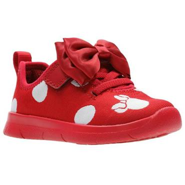 Clarks Ath Bow T-Red Combi