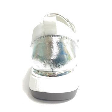 Zanni Attalia Slip On Casual Shoe-White