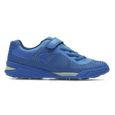 CLARKS AWARDBLAZE INF TRAINER-BLUE