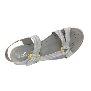 Feather Lites Bam Sandal-Grey