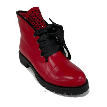 Kate Appleby Bedale1 Ankle Boot-RED