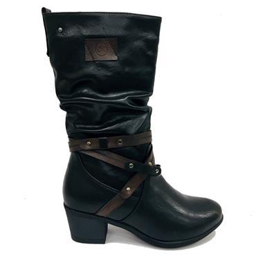 Zanni Benha One Boot-BLACK