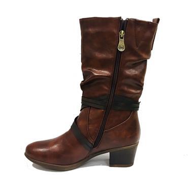 Zanni Benha One Boot-BROWN