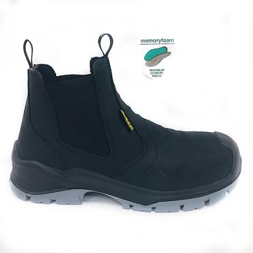 Bicap Ps6221 Safety Boot-BLACK
