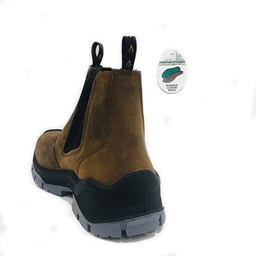 Bicap Ps6221 Safety Boot-BROWN