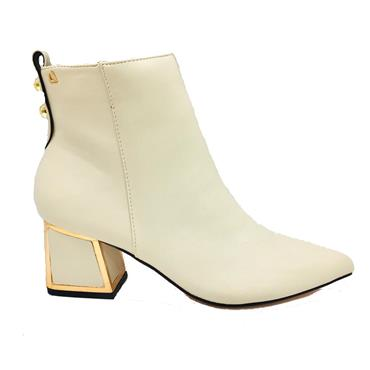 UH BLUE HAWALL ANKLE BOOT-IVORY
