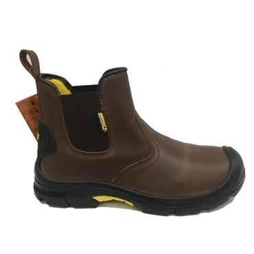 IMPACT SAFETY CHILDRENS BOSS WORK BOOT-BROWN