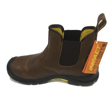 IMPACT SAFETY BOSS SAFETY BOOTS-BROWN