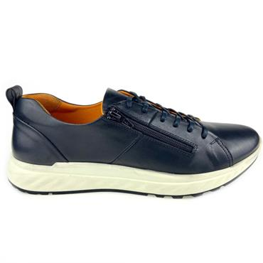 Softmode Brad Mens Casual Shoe-Navy