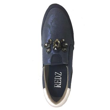 Redz Brandon Slip On Shoe-BLUE