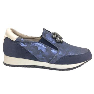 Redz Brandon Slip On Shoe-BLUE