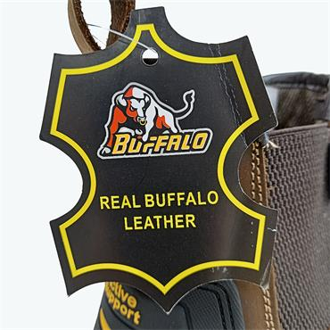 BUFFALO PULL ON SAFETY BOOT-BROWN