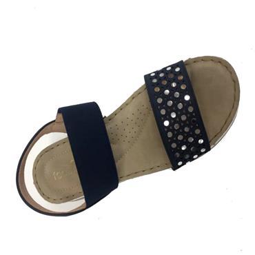 Feather Lites Bushehr Sandal-NAVY