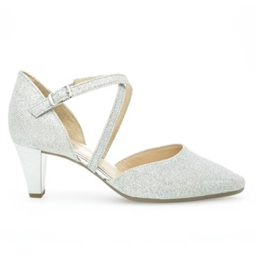 - Gabor Callow Heel Shoe 01.363.61 - Silver