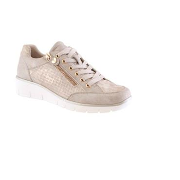 Susst Camden Lace Casual Shoe-GOLD