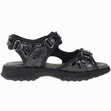 Softmode Camino Sandal-BLACK