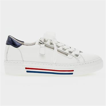 Gabor Campus Casual Shoe-White