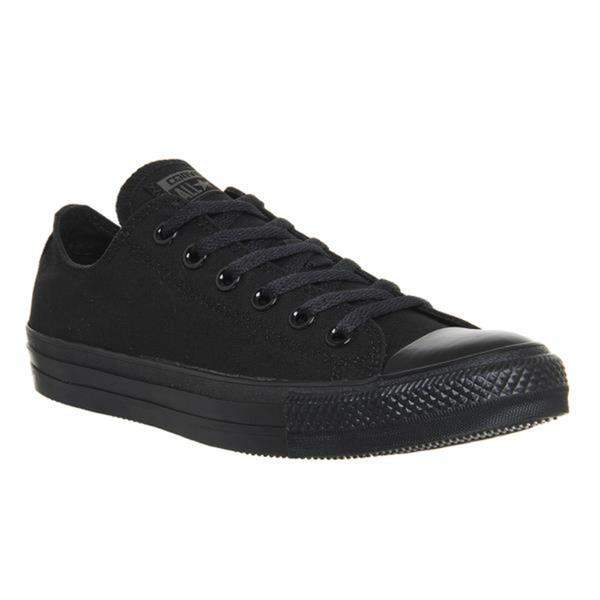 CANVAS CONVERSE-BLACK | Phillips Shoes