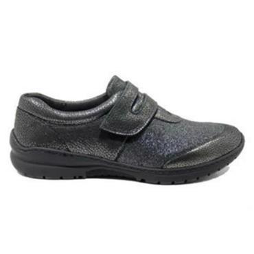 - Softmode Cara Velcro Shoe - PEWTER