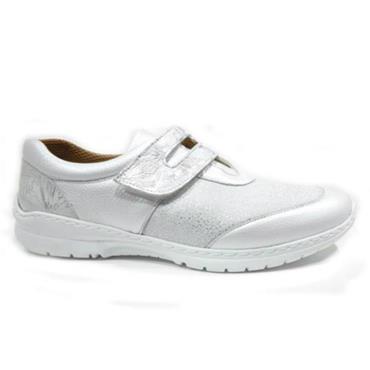 - Softmode Cara Velcro Shoe - White