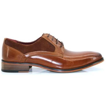 Escape Carnera Dress Shoe-CARAMEL