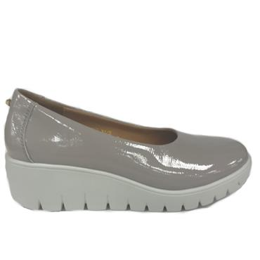 Kate Appleby Chester Wedge Shoe-Grey
