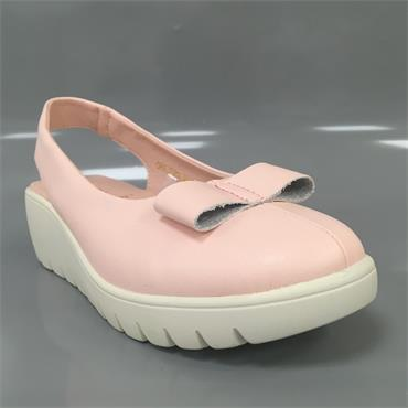 KATE APPLEBY CHILTERN WEDGE SHOE-Pink
