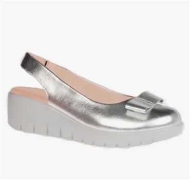 KATE APPLEBY CHILTERN WEDGE SHOE-Silver