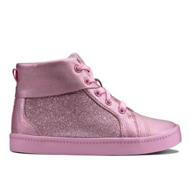 Clarks City Oasis HT-Pink Sparkle