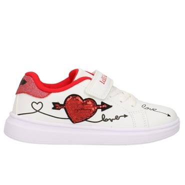LELLI KELLY CLELIA TRAINER-WHITE RED