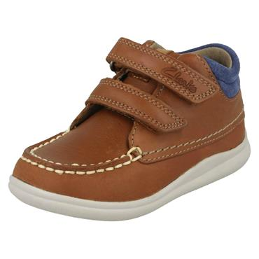 Cloudtuktu Clarks Childrens Boot-TAN