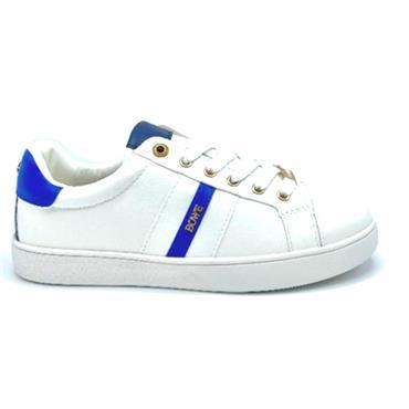 Tommy Bowe Considine Casual Shoe-WHITE BLUE