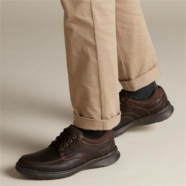 Clarks Cotrell Edge-Brown Oily