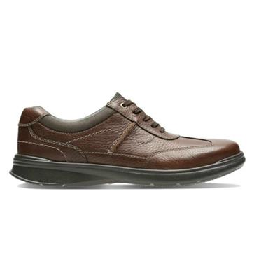 - Clarks Cotrell Style - Tobacco Leather