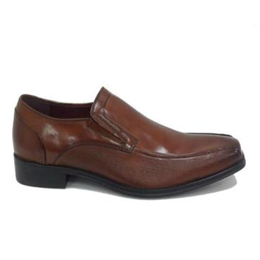 Escape Crachet Slip On Shoe-Brandy