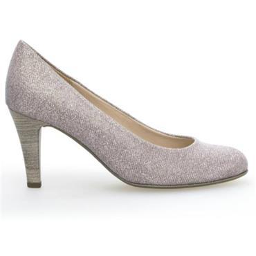 Gabor Cranberry Heel Shoe 25.310.64-Metallic