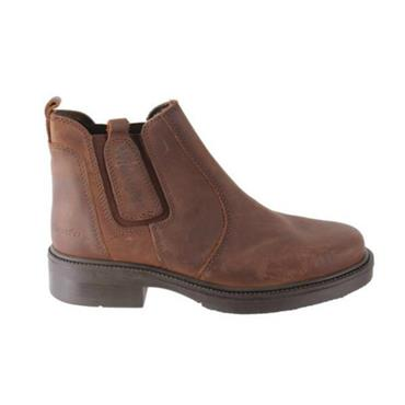 Crazyhorse Wrangler Pull On Boot - BROWN