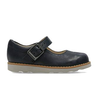 CLARKS CROWN HONOR-Navy Leather