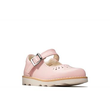 Clarks Crown Jump T-Pink Pat