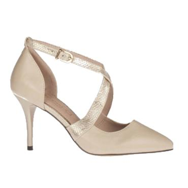 Kate Appleby Cushendun Shoes-GOLD SHIMMER