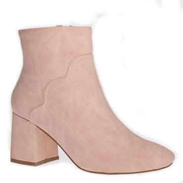 Kate Appleby Dacroum Ankle Boot-Pink