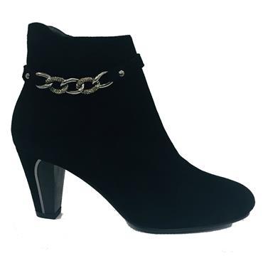 Susst Dervla Heel Ankle Boot-BLACK
