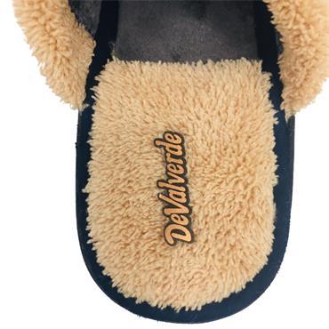 Devalverde Ladies Mule Slippers-Navy