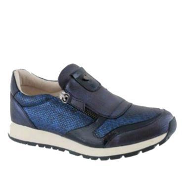 Susst Zip Casual Shoe-NAVY