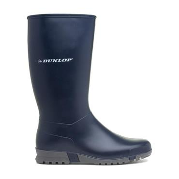 LADIES DUNLOP WELLIES-Navy
