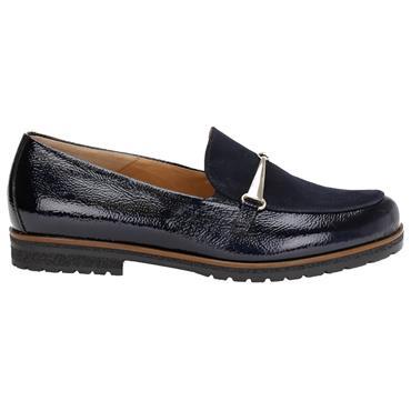 Gabor East Loafer Shoe-Navy